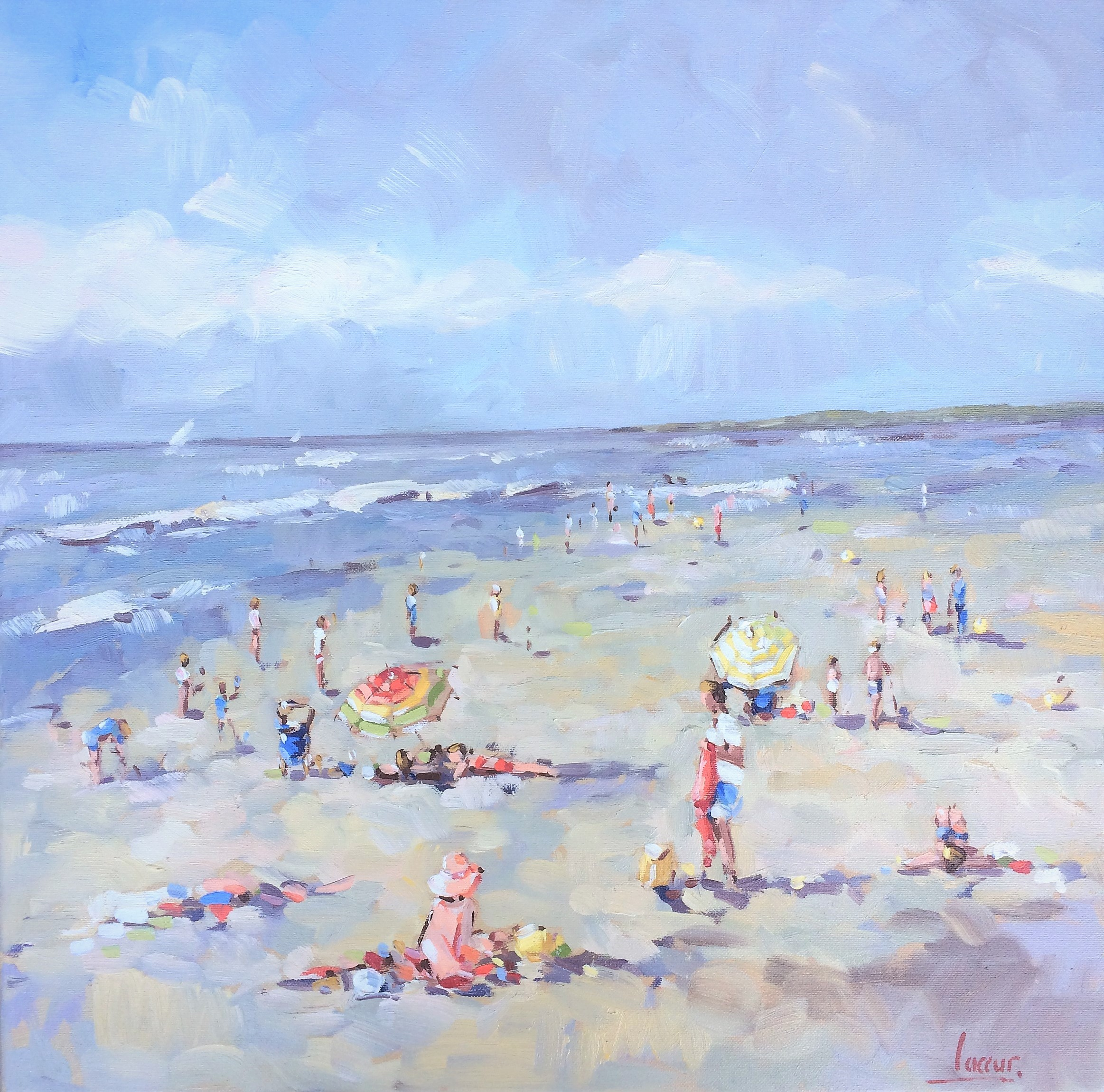 A Sunny Day at The Beach (2)