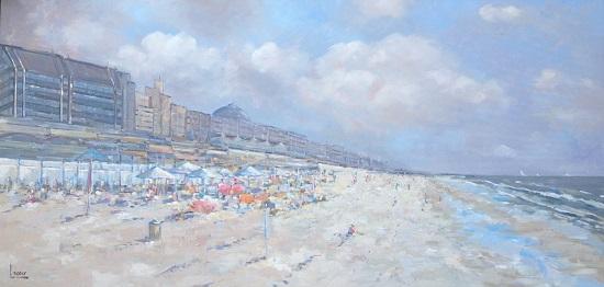 Love the beach  70 x 140 cm
