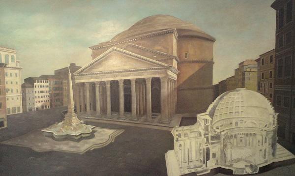 Pantheon Rome 250 x 150 cm