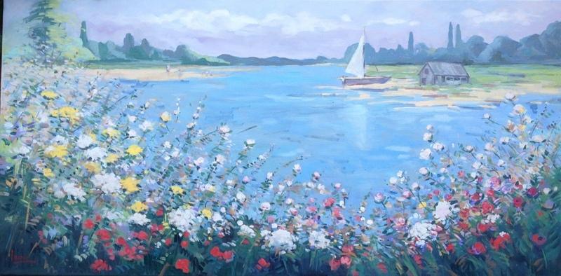 Sailing  70 x 140