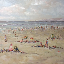 """""""Summer in Holland"""" 80 x 100cm( not available)"""