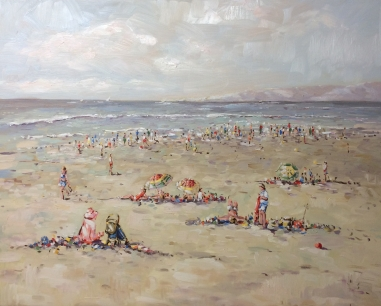 """""""Summer in Holland"""" 80 x 100cm (available)"""
